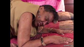 fett svart moms Porr